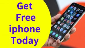 get a free iphone today